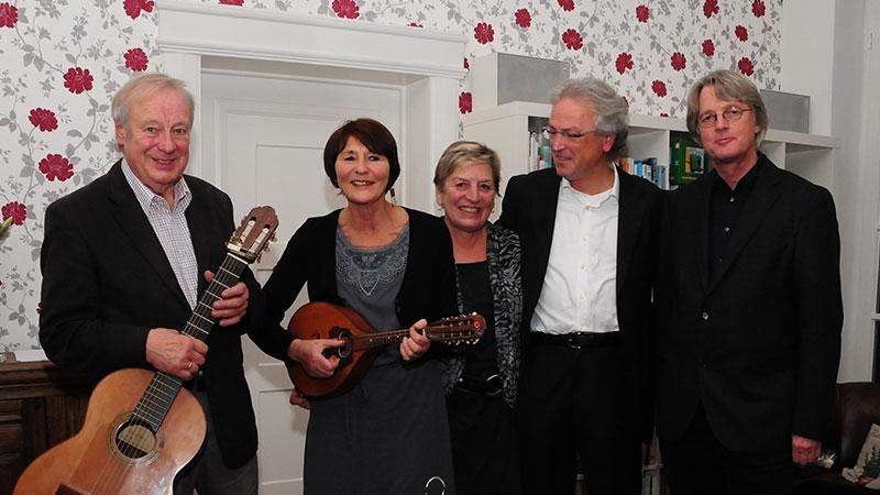 Jiddische Lieder auf dem Schoellerhof